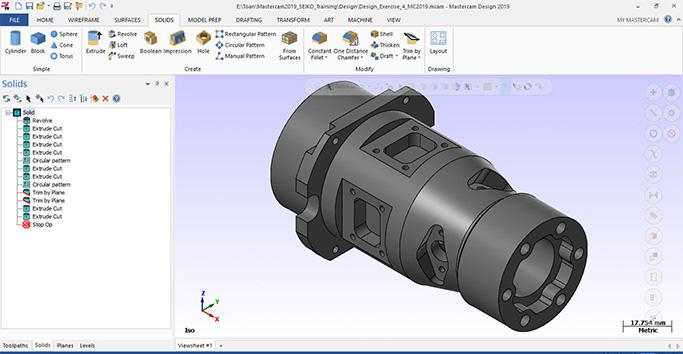 Khóa học thiết kế phần mềm Mastercam